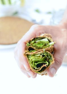 Flaxseed Wraps are NO carbs easy keto wraps recipe made with 4 ingredients. An easy protein wrap recipe to enjoy finger food while boosting your body…More 15 Awesome Keto Diet Friendly Appetizers Ideas Wrap Recipes, Raw Food Recipes, Keto Recipes, Vegan Keto, Vegan Gluten Free, Keto Snacks, Healthy Snacks, Best Keto Meals, Flax Seed Recipes