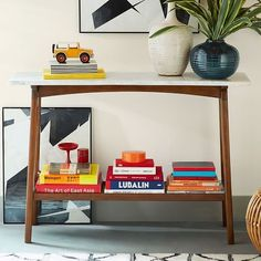 Entry table?? Reeve Mid-Century Console | West Elm