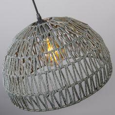 Lámpara colgante PAPELLA 1 gris #iluminacon #decoracion #interiorismo