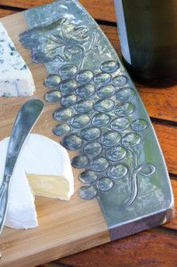 Creative Company | Pewter it – Cheese board Wooden Cheese Board, Cheese Boards, Metal Embossing, Creative Company, Metal Art, Pewter, Craft Projects, Copper, Kitchen