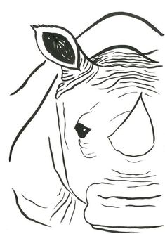 Niina Niskanen artwork Rhino for sale and offering more original artworks in Painting medium and Animals theme. Contemporary artist website Contemporary Watercolor Artist from Wrexham United Kingdom. Watercolor Paintings Nature, Watercolor Artists, Artist Portfolio Website, Online Portfolio, Original Paintings, Original Art, Black White Art, Selling Art Online, Illustration Artists