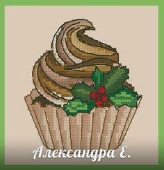 Вкусные схемы для вышивки крестом от Александры Cross Stitch Embroidery, Cross Stitch Patterns, Cupcake Cross Stitch, Sewing Projects, Projects To Try, Cupcakes, Needlepoint, Easter Eggs, Needlework