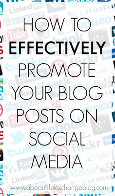 How to promote your blog successfully via social media