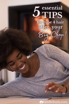 These are the tips that I acquired from my own big chop. Once I understood my hair and how to care for it, retaining length just became a regular occurrence. I don't really have to trim it very much anymore, it just stays healthy. Discover how you can take care for your hair after your big chop and bypass the learning curve! #type4 #coily #curly #natural #care #bigchop #tips Natural Hair Problems, Natural Hair Care Tips, Long Natural Hair, Natural Hair Styles, Coily Hair, 4c Hair, Hair Facts, Type 4 Hair, Big Chop