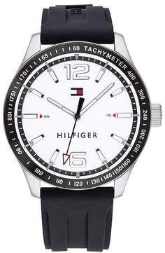 Best Bracelet 2017/ 2018  : Tommy Hilfiger Men's Essentials Silicone Bracelet Watch, 44mm   https://flashmode.be/best-bracelet-2017-2018-tommy-hilfiger-mens-essentials-silicone-bracelet-watch-44mm/  #Bracelets