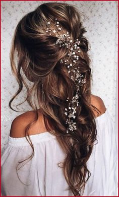 wedding hairstyles half updo pics of half hair updos for weddings Party Hairstyles, Formal Hairstyles, Down Hairstyles, Wedding Hairstyles, Hairstyle Ideas, Black Hairstyles, Beautiful Hairstyles, Straight Hairstyles, Bridesmaid Hairstyles