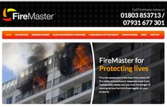 New content managed website design to enable Firemaster to promote themselves to potential clients.