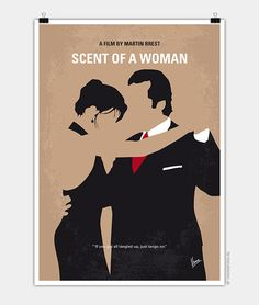 My Scent of a Woman minimal movie poster' Poster by ChungKong Art - illustrations Minimal Movie Posters, Minimal Poster, Cinema Posters, Film Posters, Play Poster, Movie Poster Art, Poster S, Vintage Movies, Vintage Posters
