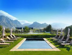 Franschhoek Guest House Accommodation | La Cabriere Country House | Franschhoek Cape Winelands