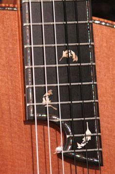 Guitar Crafts, Guitar Diy, Cool Guitar, Custom Bass Guitar, Custom Guitars, Archtop Guitar, Acoustic Guitars, Guitar Inlay, Classical Acoustic Guitar