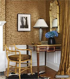 South Shore Decorating Blog - gold decor