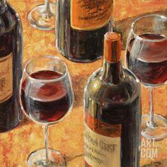 Wine Tasting II Art Pr