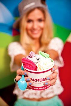 Frozen Yoghurt, Summer Campaign, Real People, Food, Essen, Yemek, Meals