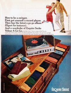 Esquire socks, 1965