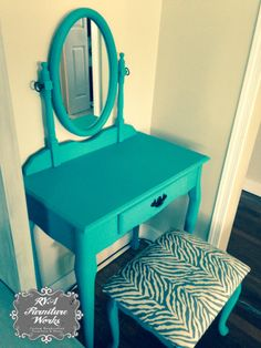 1000 Images About Teal Amp Turquoise Upcycled Furniture