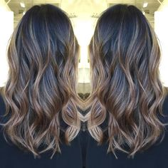 light brown ombre balayage for black hair