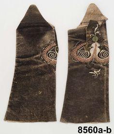 Mitts 1770-79. DigitaltMuseum - Halvhandskar