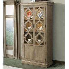 Dining Room Living Display Cabinet China Wood Furniture