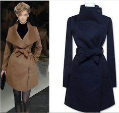 2015 mùa xuân mùa thu đông thời trang len áo khoác trung bình dài thiết kế thương hiệu len áo khoác áo khoác ngoài rãnh t007 trong   Thông tin kích thước( cm)Lưu ý: các thông tin sau đây là chỉ để tham khảo. Xin vui lòng liên hệ với người từ Len & Blends trên AliExpress.com