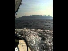 Sailing in the Saronic Gulf on a Jeanneau Sun Odyssey 45.2