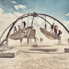 10+ Epic Photos From Burning Man 2017 That Prove It's The Craziest Festival In The World