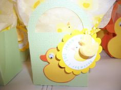 duck bag baby shower favor using the cricut new arrival and tags, bag, boxes and more cartridge