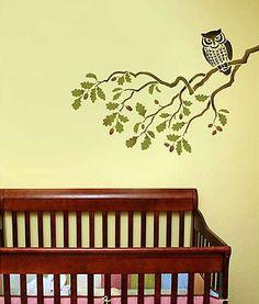 Cutting Edge Stencils - Wise Owl Stencil