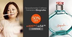 Confira no meu espaço da Rede Natura mais um produto recomendado pela nossa perfumista exclusiva,Verônica Kato e aproveite para comprar online com preço especial.