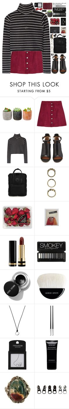 """""""*catch and release*"""" by my-black-wings ❤ liked on Polyvore featuring Shop Succulents, H&M, Givenchy, Fjällräven, Forever 21, FRUIT, CASSETTE, Jayson Home, Gucci and Giorgio Armani"""