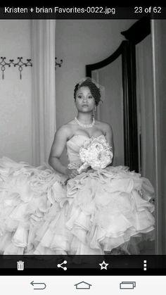 Bridal photo idea
