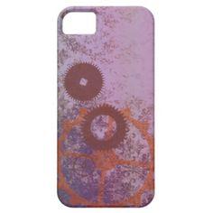 Vintage Purple Damask Pattern iPhone 5 Case