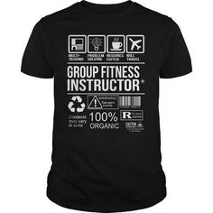 Awesome Tee For Group Fitness Instructor T Shirts, Hoodies. Get it here ==► https://www.sunfrog.com/LifeStyle/Awesome-Tee-For-Group-Fitness-Instructor-105061702-Black-Guys.html?41382