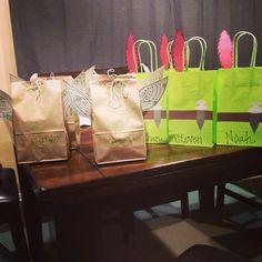 Peter Pan and Tinkerbell DIY goodie bags
