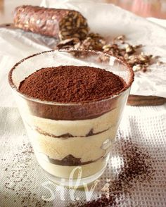 Bicchierino di crema al salame di cioccolato