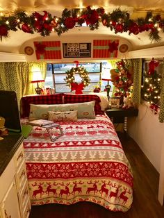 decorated for christmas rv rolling renovations rv dcor