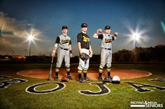senior baseball pictures | Put Me In, Coach: Baseball Brothers Session With Tanner, Parker ...