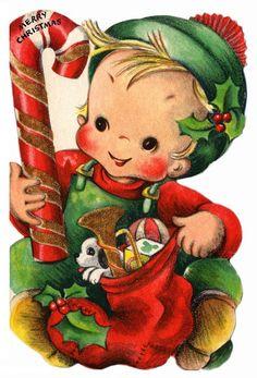 Vintage Children's Christmas #7 | von lovdolls