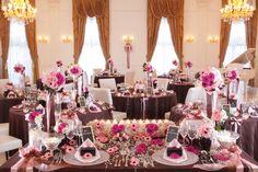 フェアリア・コート - ブライダル フォトギャラリー|大垣でのウエディング・結婚式・ブライダルならセントローザで Themed Weddings, Banquet, Affair, Wedding Planning, Table Settings, Table Decorations, Banquettes, Place Settings, Dinner Table Decorations