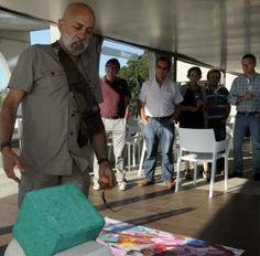 Inauguración de la exposición de Lomarti en Martín Códax. // N. Parga