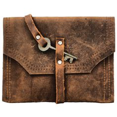 Divina Denuevo Chocolate Brown Leather Man-Size Mayfair Mega-Wallet