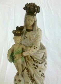 Vintage French Madonna and Child