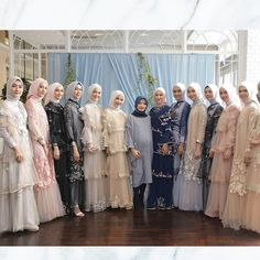 dresses for Ayu Dyah Andari Soiree Trunk Show is part of Dress pesta - Hijab Gown, Hijab Dress Party, Hijab Style Dress, Dress Brokat Muslim, Kebaya Muslim, Muslim Dress, Muslimah Wedding Dress, Muslim Wedding Dresses, Bridesmaid Dresses