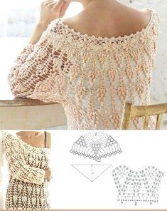 Crochet dress--shortened just |
