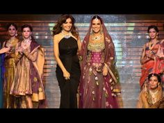 IIJW Fashion Show: HOT Neha Dhupia walks the ramp on Day One at IIJW