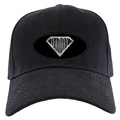 SuperDaddy Baseball Hat on CafePress.com