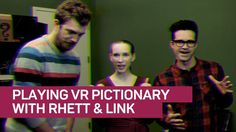 Rhett & Link's 'Buddy System' goes old school to try new tricks     - CNET  Rhett & Link battle for artistic supremacy  in VR  The Good Mythical Morning YouTube stars tackle a CNET challenge: Playing pictionary in virtual reality.                                                              by Joan E. Solsman  4:56   Close  Drag  For their most ambitious online video yet YouTubers Rhett and Link went back to their roots.   The pair Rhett McLaughlin and Link Neal rose to prominence with their…