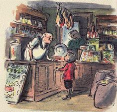 The marvelous Edward Ardizzone. Rich illustration.