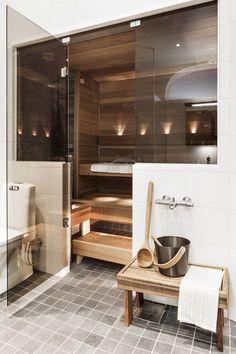 Cozy Sauna and home spa ideas