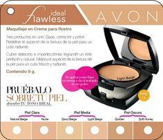 Maquillaje en Crema para el Rostro FPS 15. 9 g.Combina la suavidad de la base en crema con el acabado del polvo dando una cobertura completa a la piel.