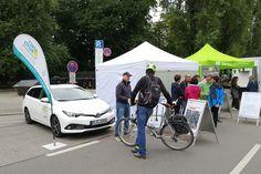 Kommen Sie uns auf dem Streetlife Festival besuchen :-) #Stattauto #München #CarSharing #SLF #Streetlife #CorsoLeopold #Klima-Allianz